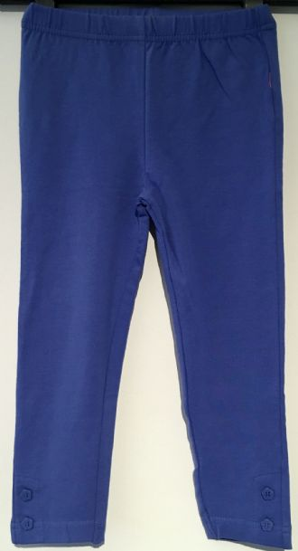 ex JOJO BRIGHT BLUE GIRLS LEGGINGS 0-3m - 4-5yrs
